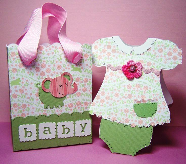 Cricut Baby Shower Invitations