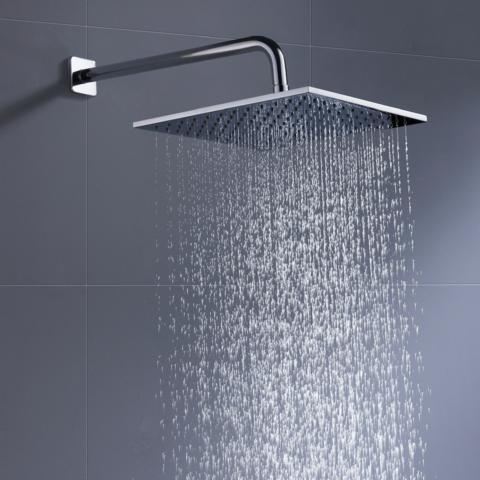 Upgrade Your Master Bath With A Rain Shower Head Rain Shower