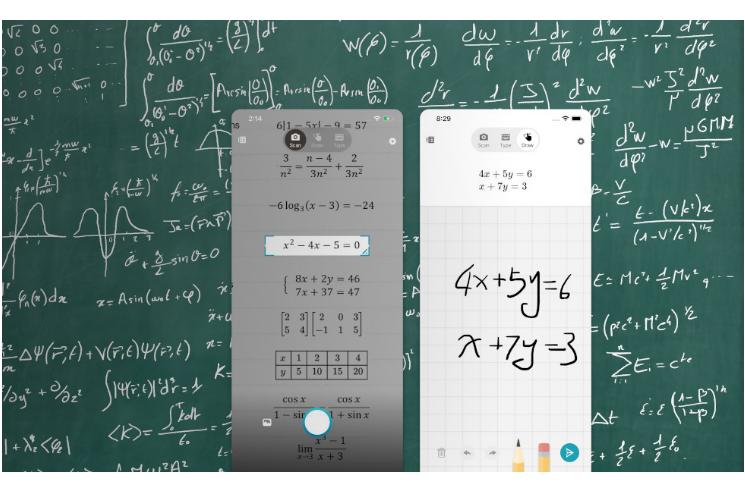 Microsoft Math Solver App