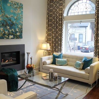 Teal Pillow Design Ideas, Pictures, Remodel and Decor ...