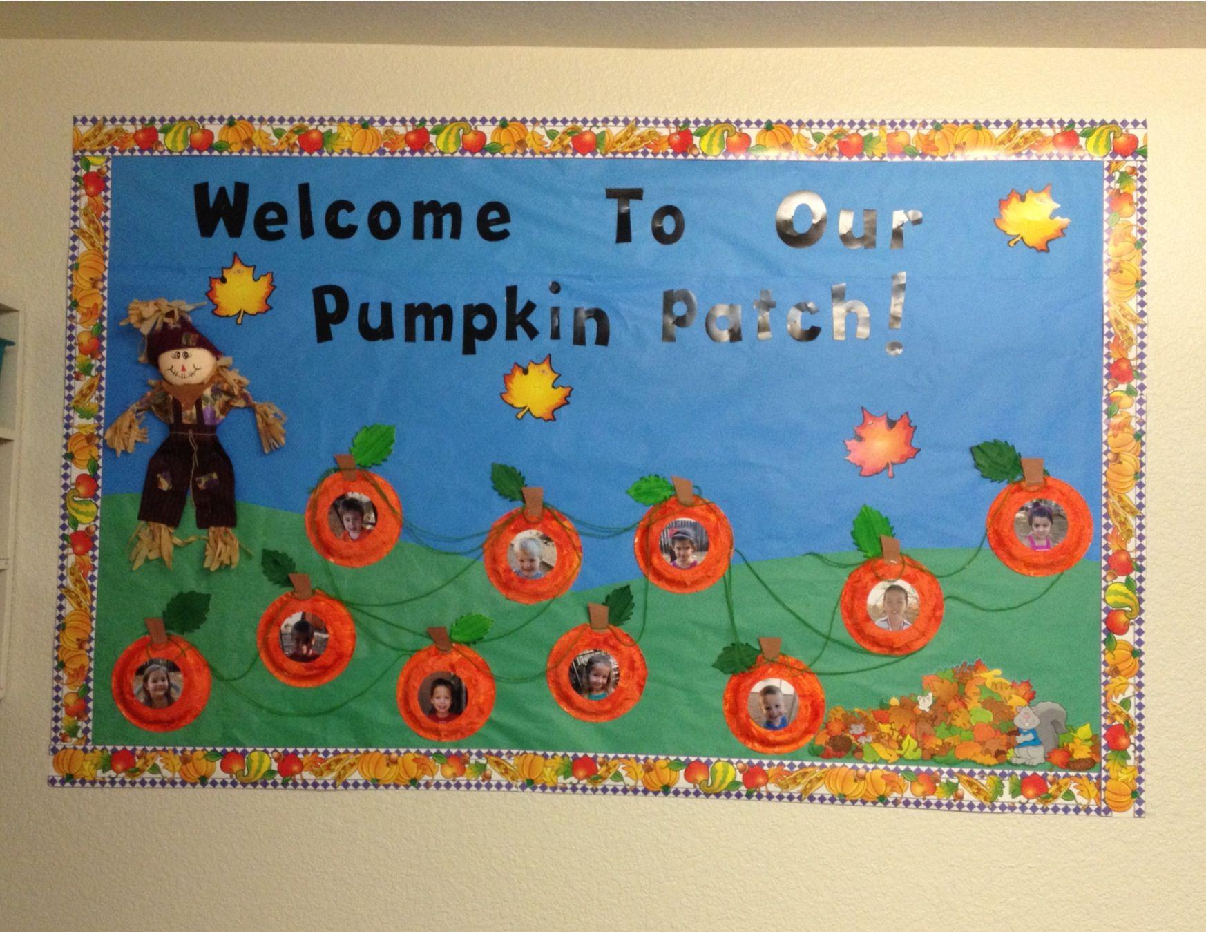 Pumpkin Patch bulletin board #pumpkinpatchbulletinboard