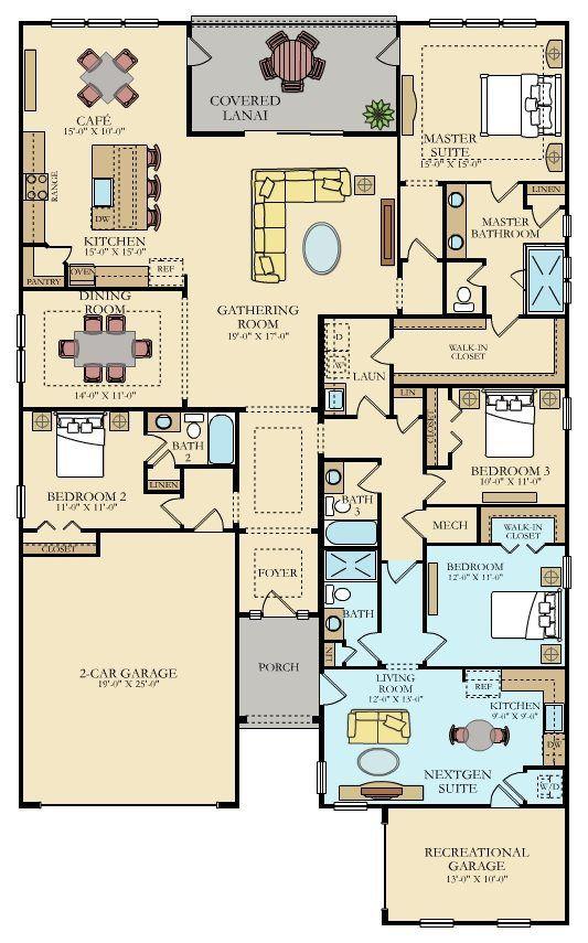 MILLENNIAL New Home Plan in Palencia
