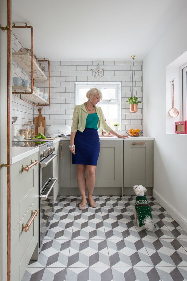 Make your kitchen lighter and brighter with this one trick