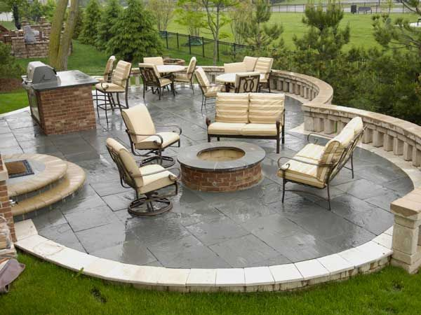 Crushed Limestone Patio Google Search Patio Limestone Patio Porch And Balcony