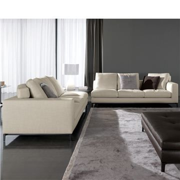 Minotti Andersen Sectional Sofa - Style # AND, Leather Sectional Sofa & Contemporary Leather Sofa | SwitchModern