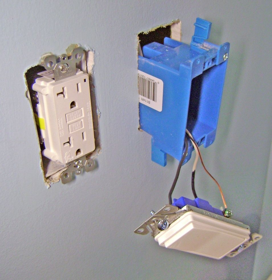 How To Finish A Basement Bathroom Light Switch Electrical Wiring Basement Bathroom Light Switch Light Switch Wiring