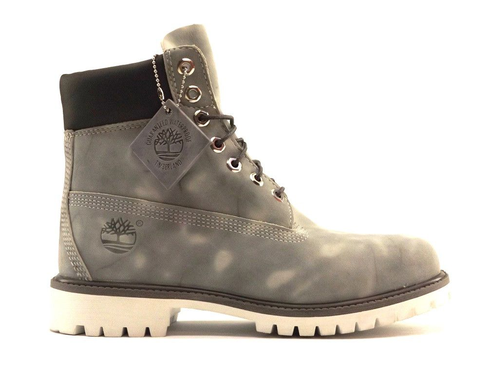 Timberland 6 inch Premium Boots in Grey Marble – West Brothers #Timberland # boots #
