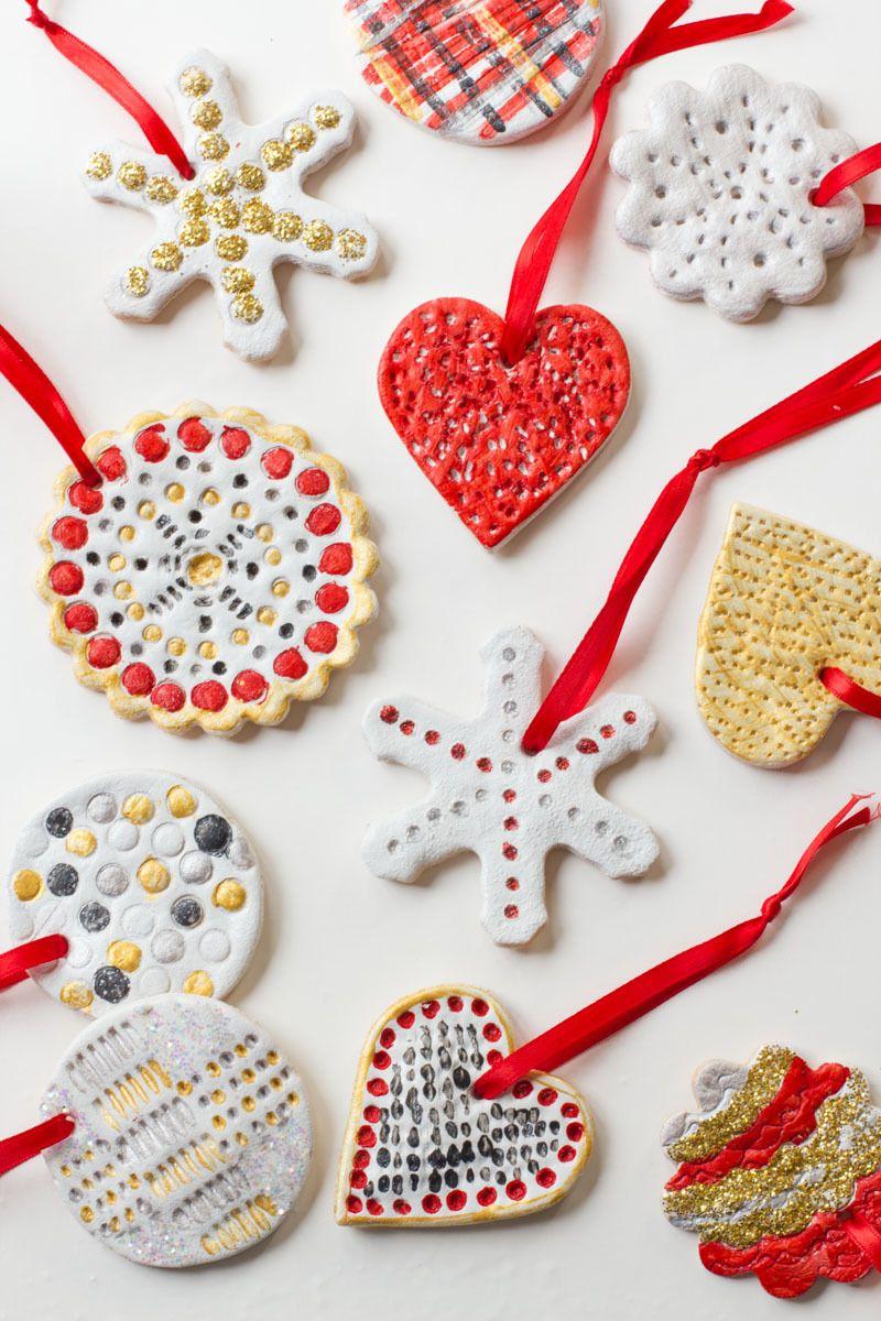 Weihnachtsbasteln Salzteig.Salzteig Weihnachten Rezept Und Anleitungen Für Diese Dekoration