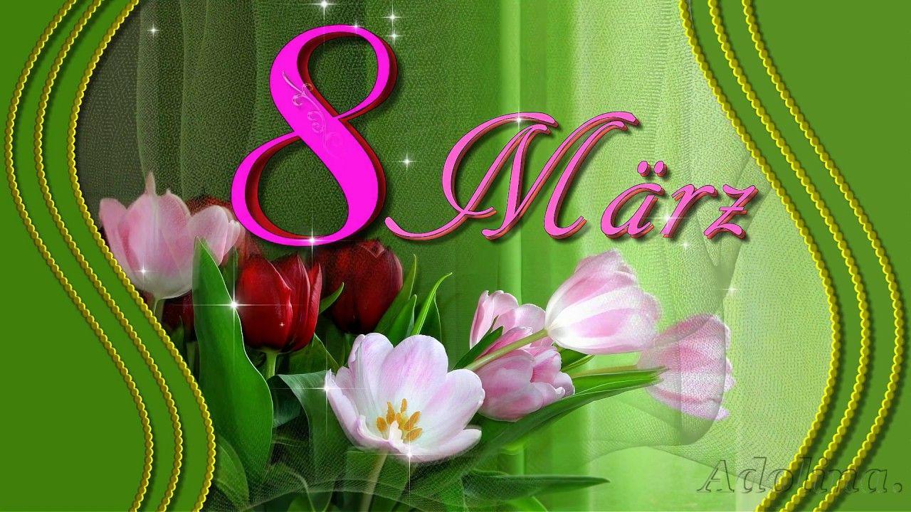 Herzlichen Glückwunsch Zum Frauentag