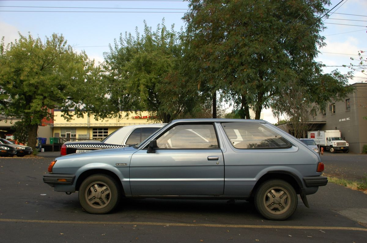 OLD PARKED CARS.: Search results for subaru