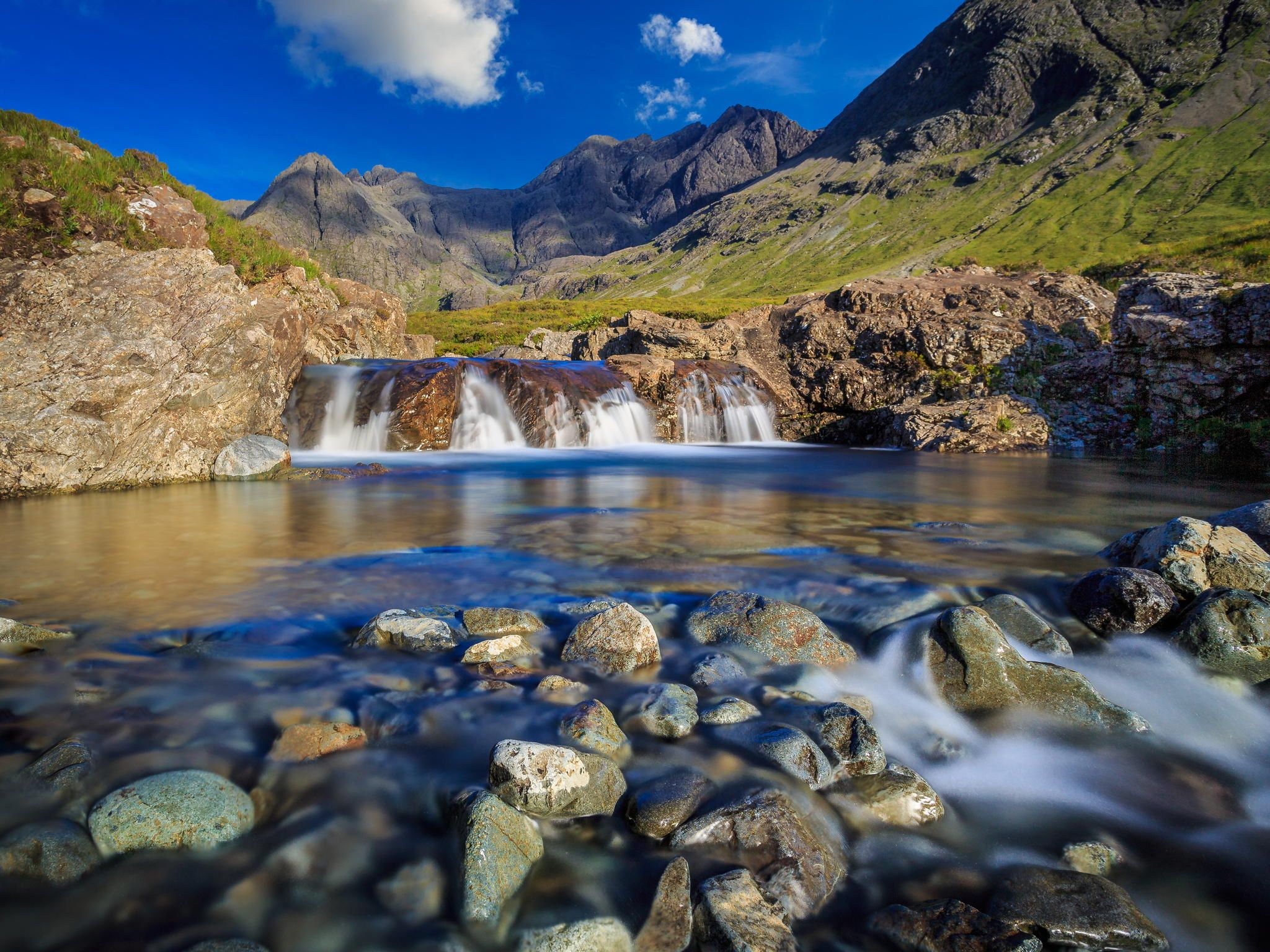 Photograph Fairy pools III by Stephan Tuytschaever on 500px