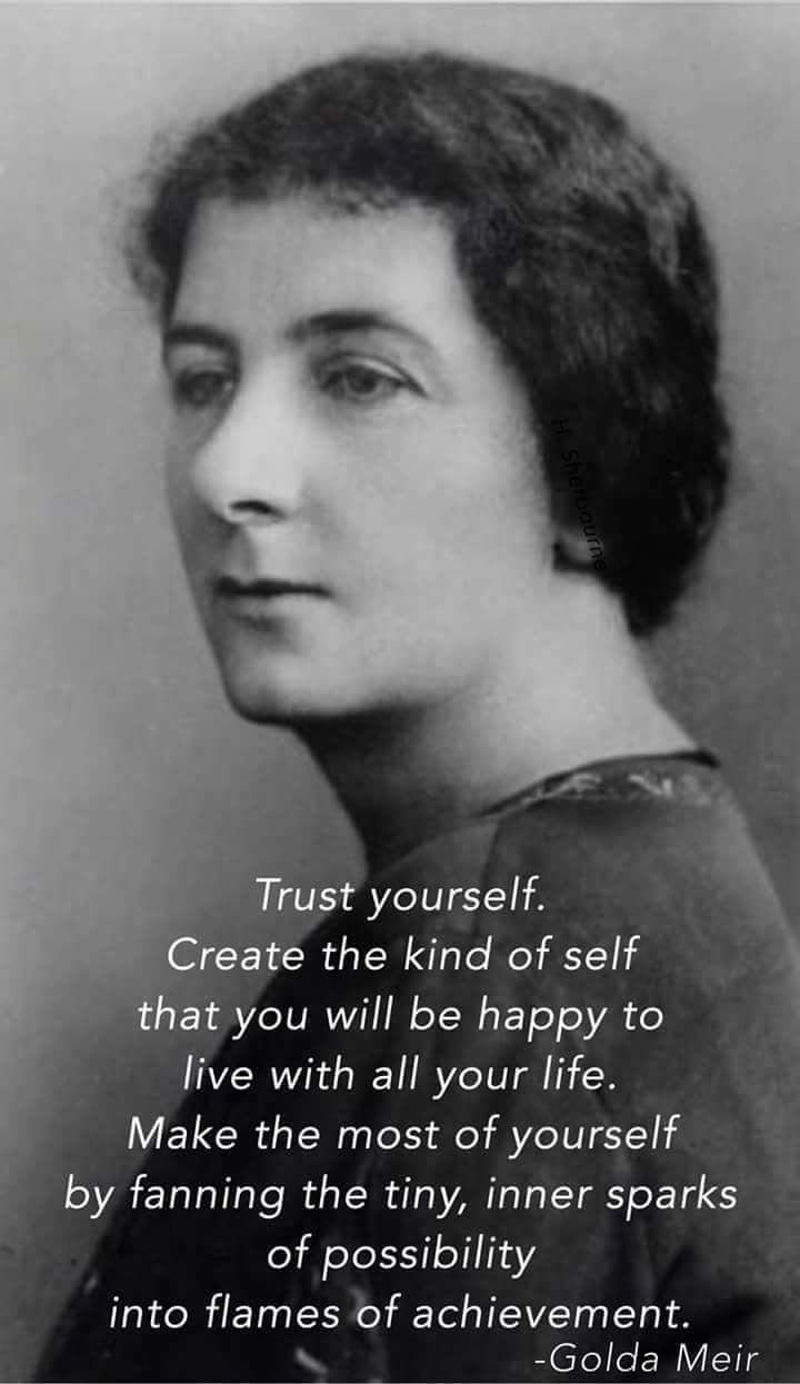Quotes By Famous Women Famous Women Quote Golda Meir  Fabulous Women  Pinterest