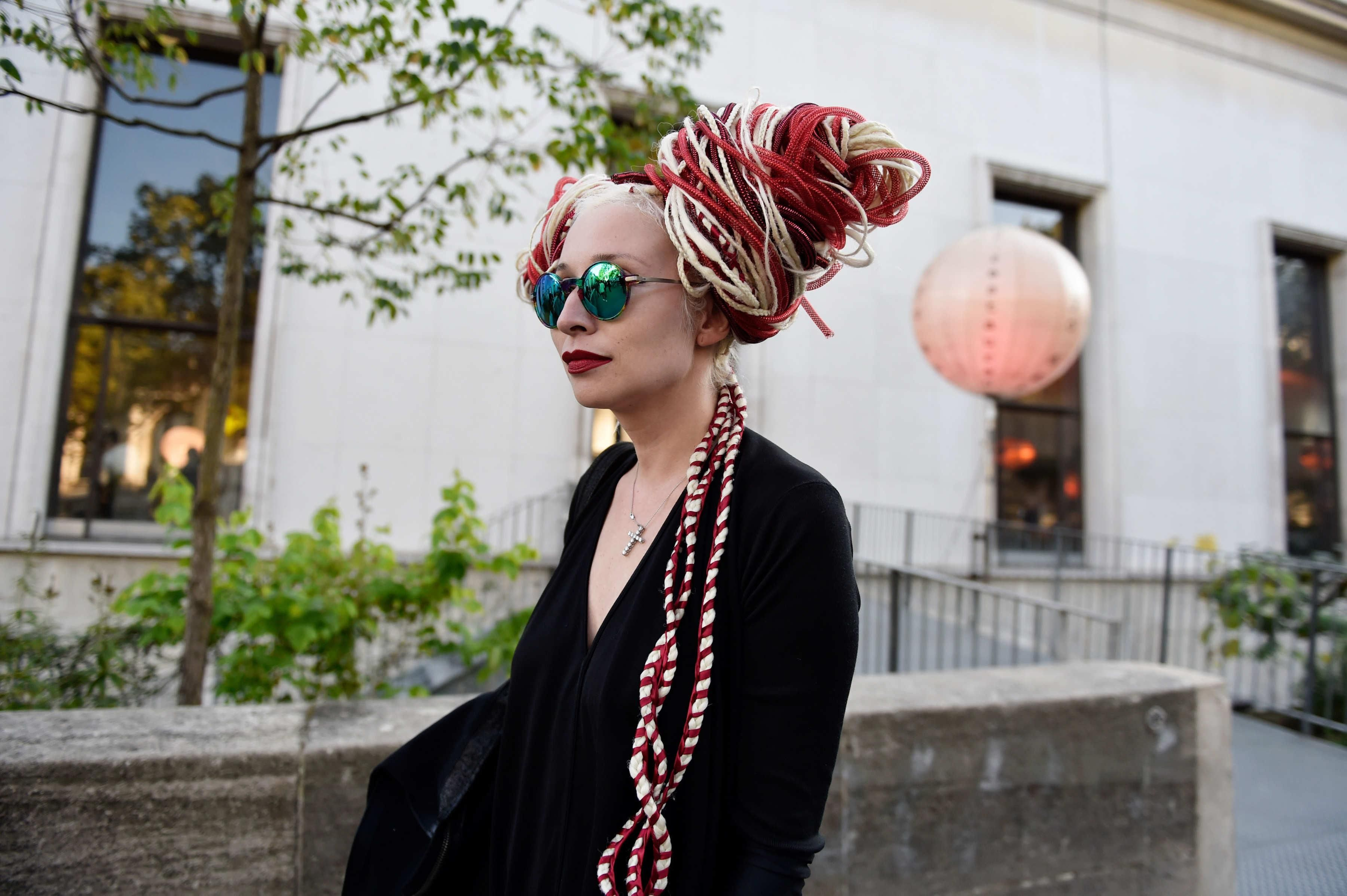 See All the Street Style From Paris Fashion Week: Natalya Bogacheva