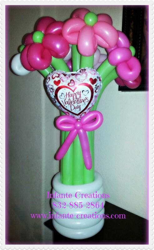 Awesome Blossom Balloon Flower Bouquet for any ocassion. | Balloon ...