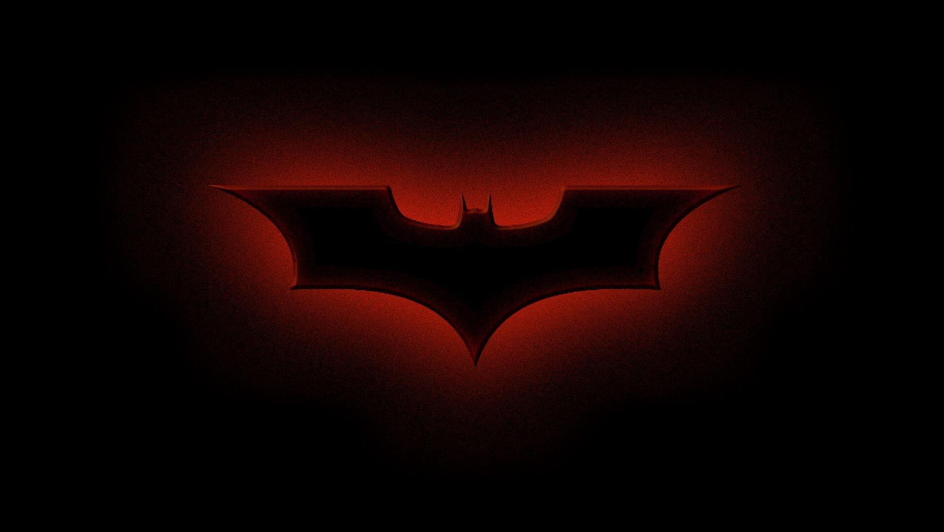 Dark Knight Logo In A Red Glow Knight Logo Dark Knight Pop Art