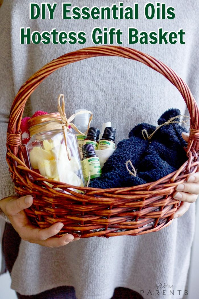 Diy essential oil hostess gift basket essentials and gift diy essential oils hostess gift basket this diy gift basket is the perfect gift to negle Image collections