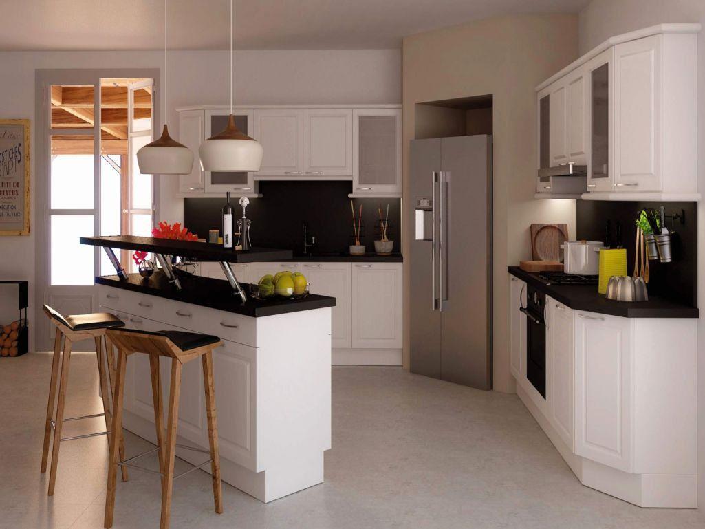 Cuisine Ouverte Salon 112m12   Open kitchen, Kitchen lounge, Kitchen