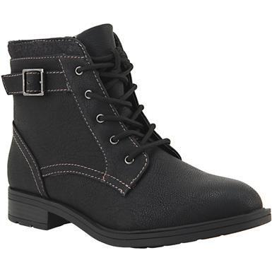 Sporto Lemier Comfort Boots Womens Black Store