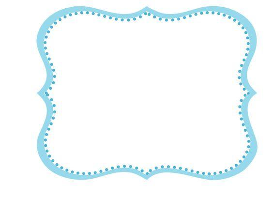 frame azul png - Pesquisa Google | Họa Tiết | Pinterest | Classroom ...