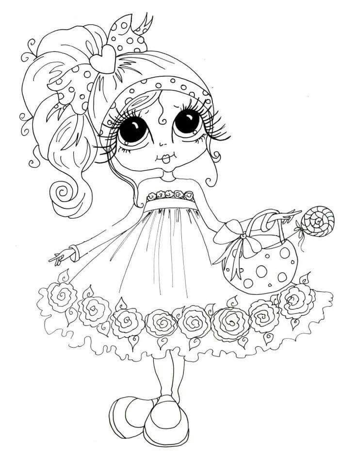 Xoxo Friends Printable Coloring Pages Pics