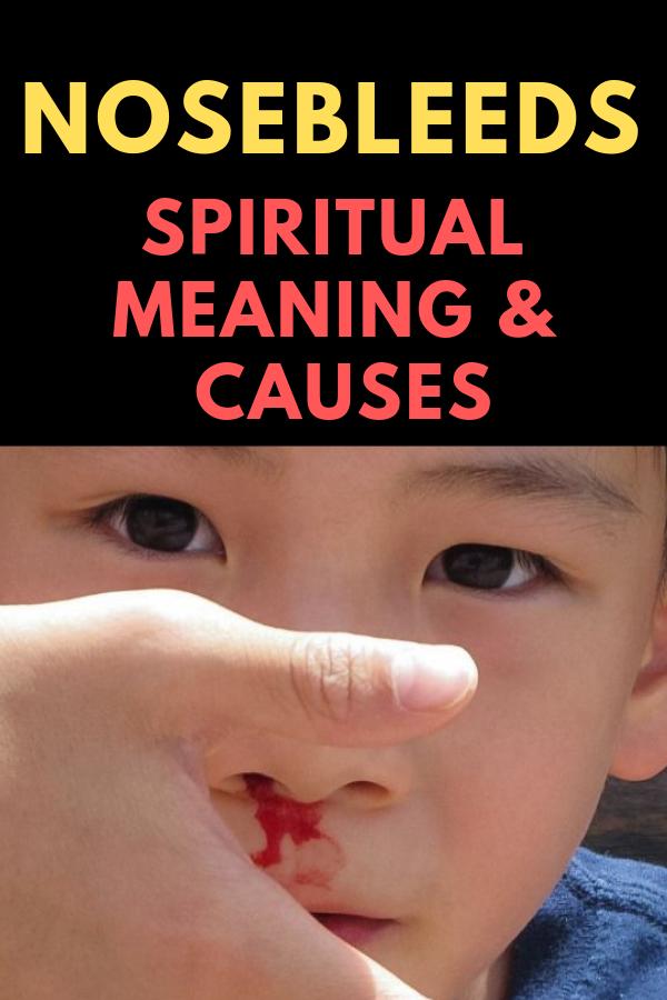 Nosebleeds (Epistaxis) – Spiritual Meaning & Causes