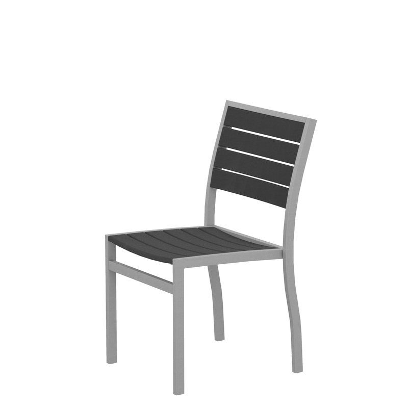POLYWOOD® Euro Patio Dining Chair & Reviews | Wayfair ...