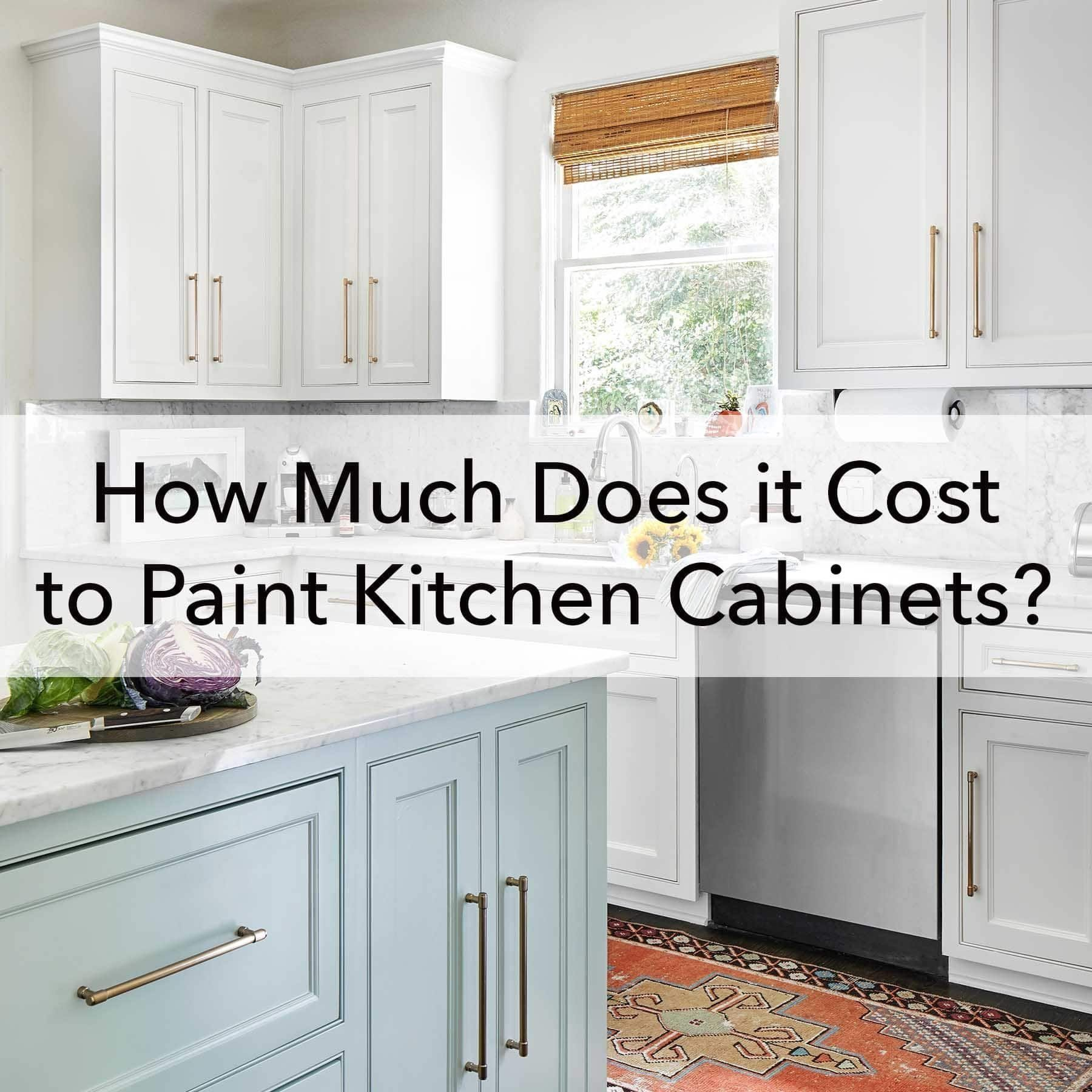 How Much Does It Cost To Paint Kitchen Cabinets 1000 In 2020 Repainting Kitchen Cabinets Cost Of Kitchen Cabinets Painting Kitchen Cabinets