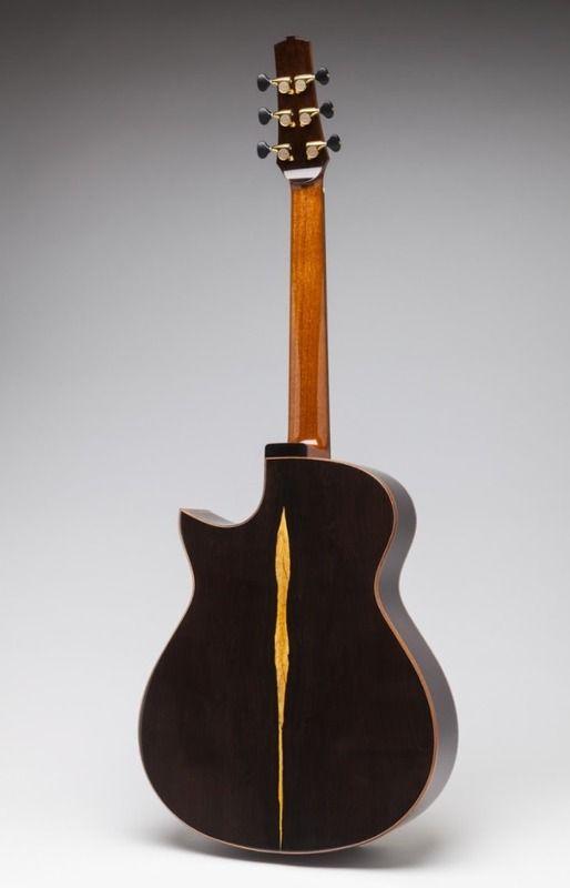 Leo Buendia Blackwood Om Video Guitar Beautiful Guitars Acoustic Guitar