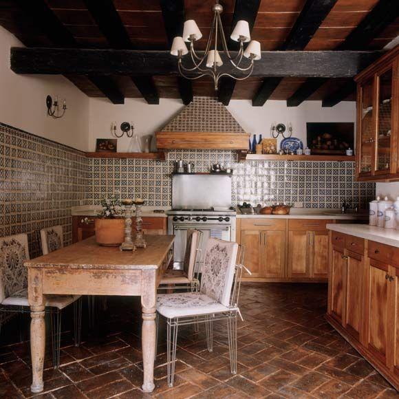 Estilo r stico en la cocina decoracion rustica francesa - Cocinas estilo rustico ...