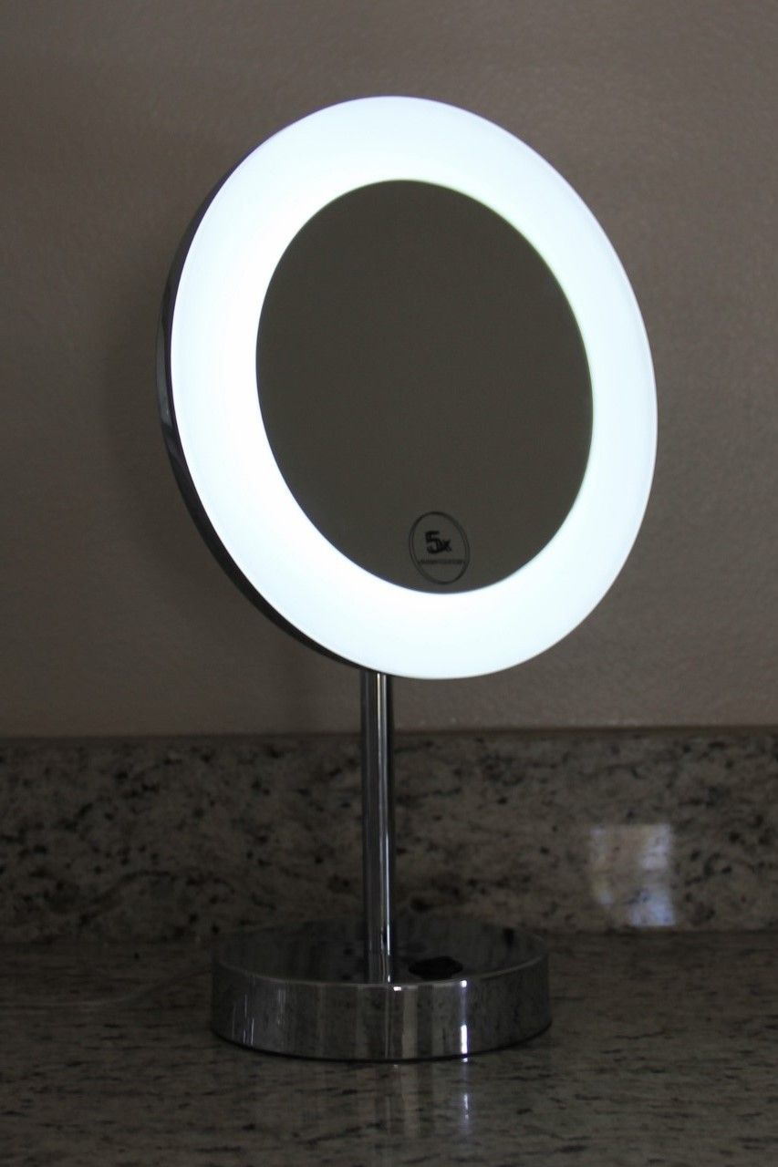 Lighted Image Presents This 10 Free Standing Led Illuminated Make Up Mirror Perfect For Your Vanity Top Or Whereever Yo Led Beleuchtung Led Beleuchtete Bilder