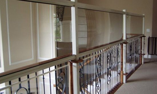 Baby Proofing Plexiglass Loft Railing Home Baby Proof