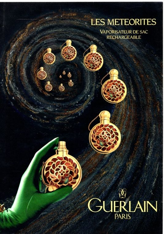 Guerlain Meteorites 2000 Perfume Scents Perfume Bottle Design Perfume Art