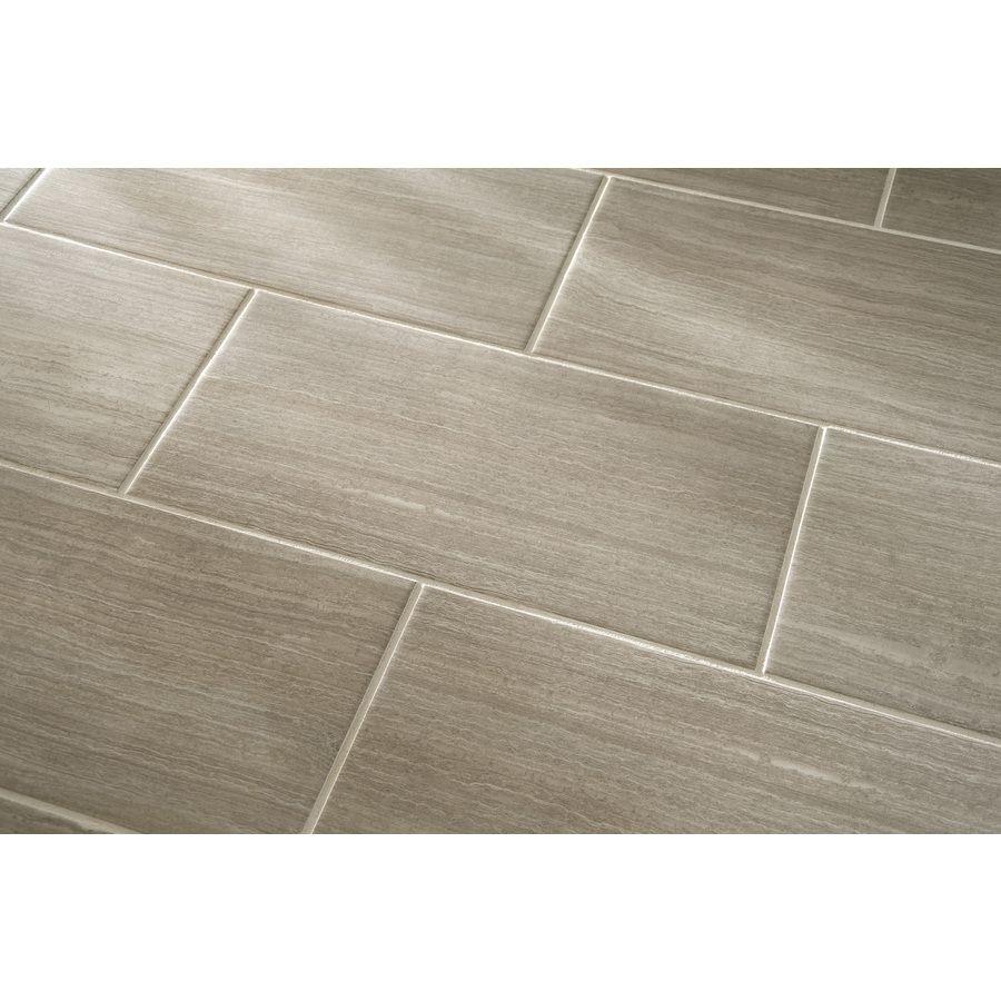 Kitchen Floor Tiles Lowes: Shop Style Selections Leonia Sand Glazed Porcelain Indoor