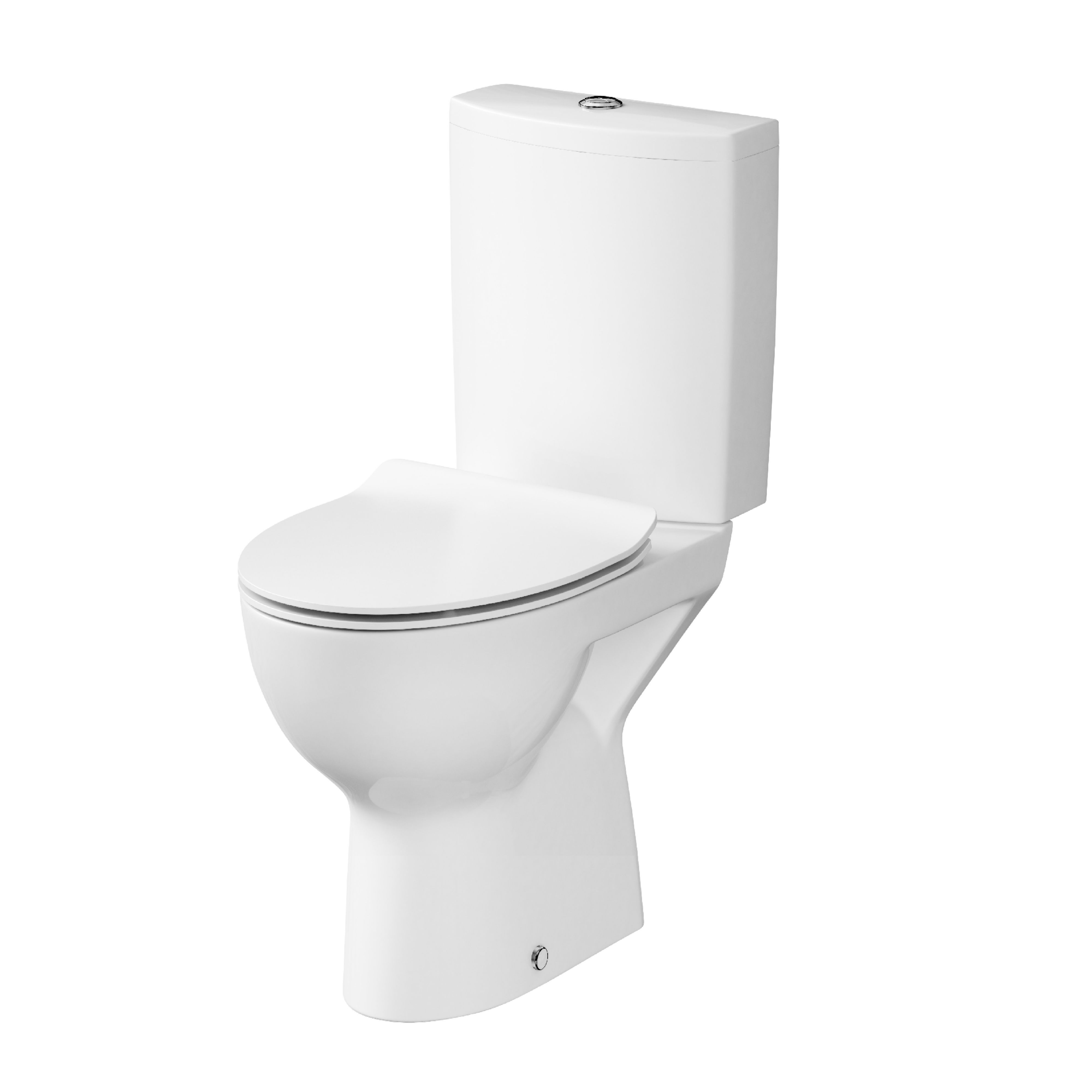 Surprising Cersanit Solare Rimless Close Coupled Toilet With Soft Close Machost Co Dining Chair Design Ideas Machostcouk