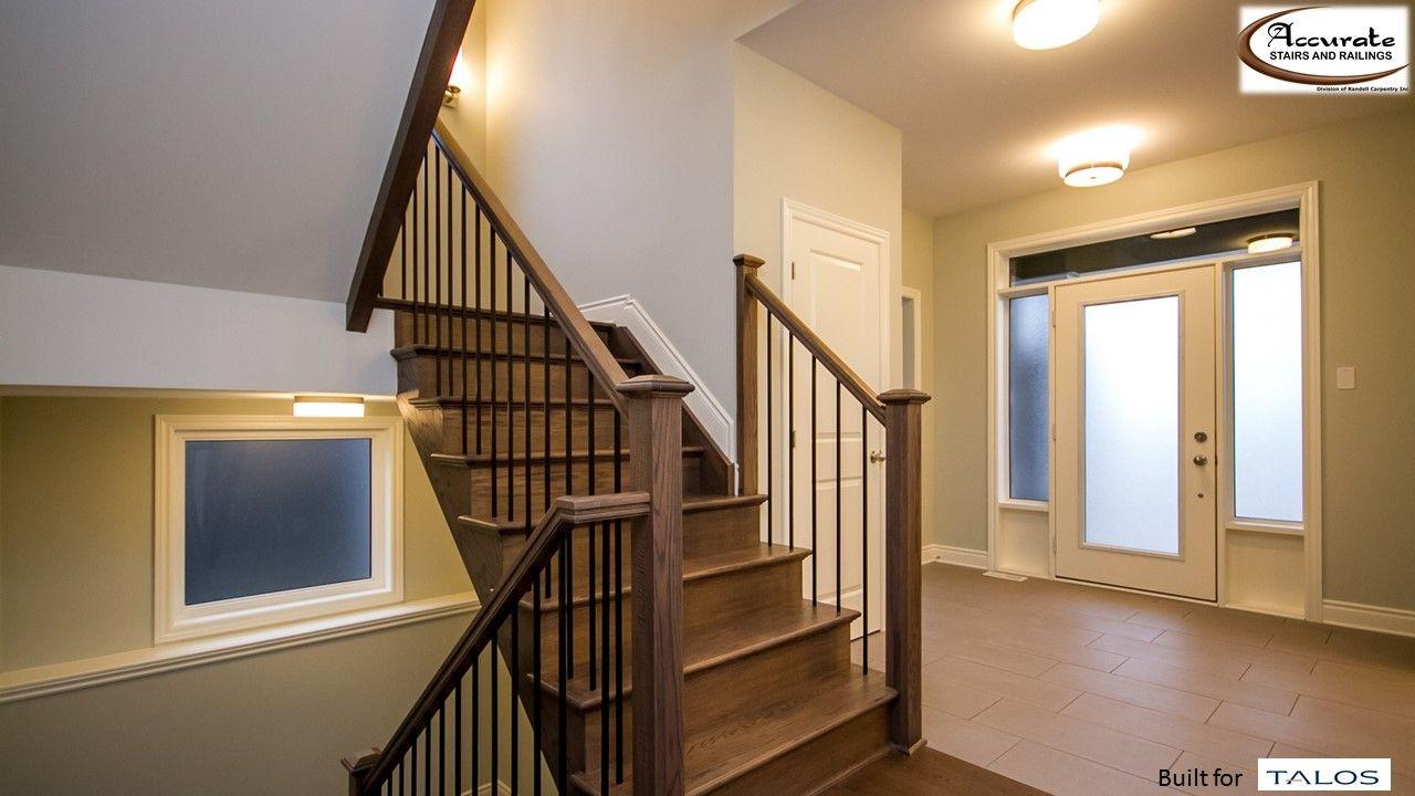 Best Beautiful Red Oak Stair Simple Yet Elegant Rail With 400 x 300