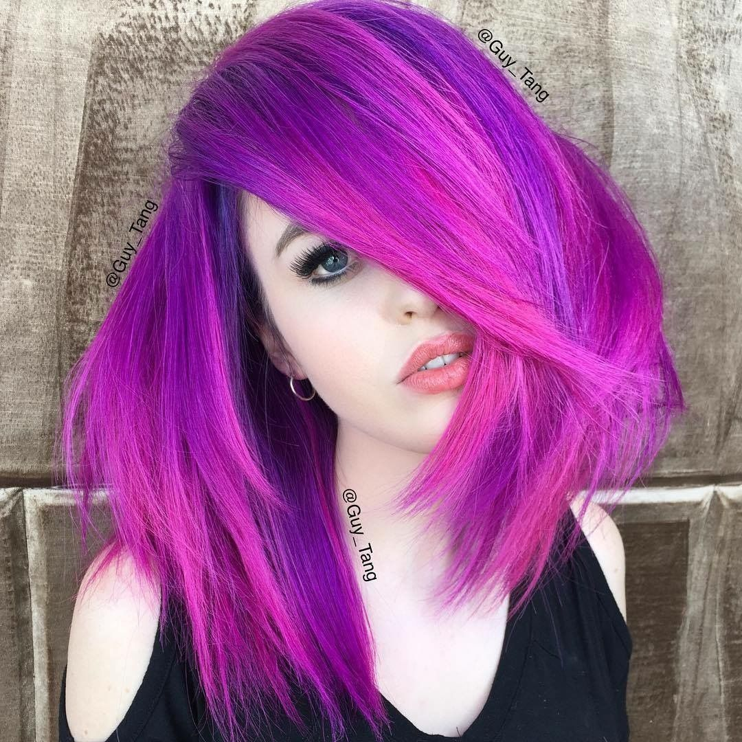 Pin by DiamondRoseEV 👸🏻💕 on MultiColored Hair Pink