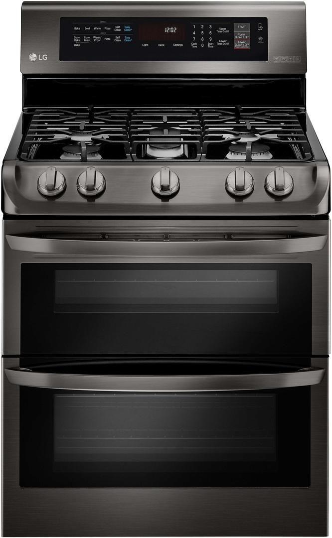 Lg Ldg4315bd 30 Black Stainless Steel Series Gas Freestanding