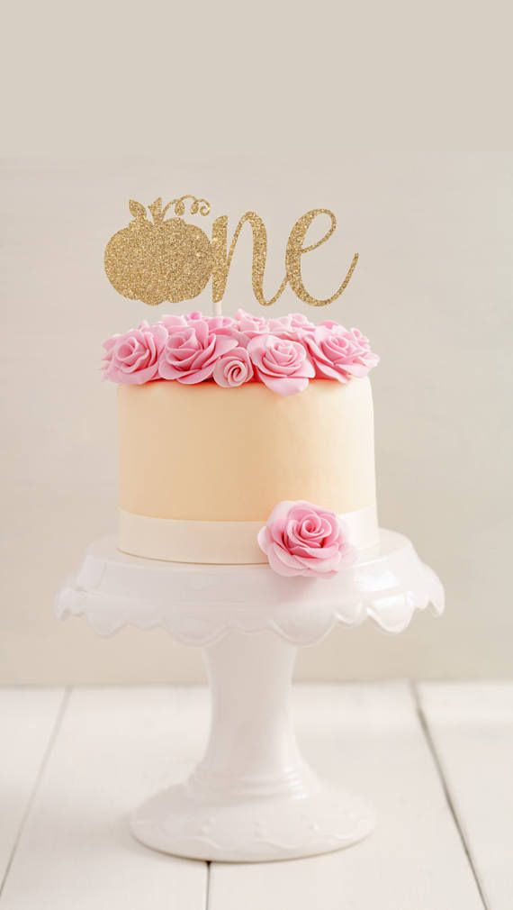 One Cake Topper First Birthday Cake Topper First Baby Mia