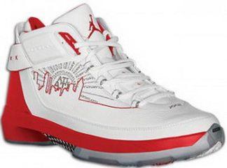 faa8fdd98738e0 Air Jordan XX2 PE Atlanta Hawks Joe Johnson White Metallic Silver-Varsity  Royal-Red