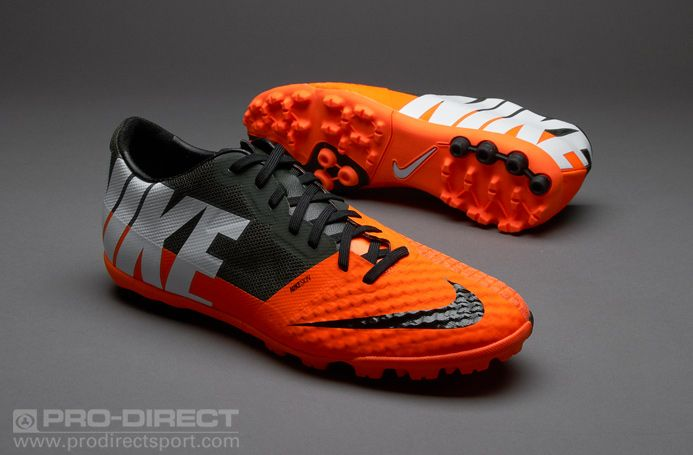 788e387267796 Nike Football Boots - Nike Bomba Finale II - Fives - Soccer Cleats - Total  Orange-White-Sequoia