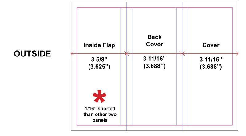 Measurements For A Trifold Brochure Trifold Brochure Brochure Print Trifold Brochure Template