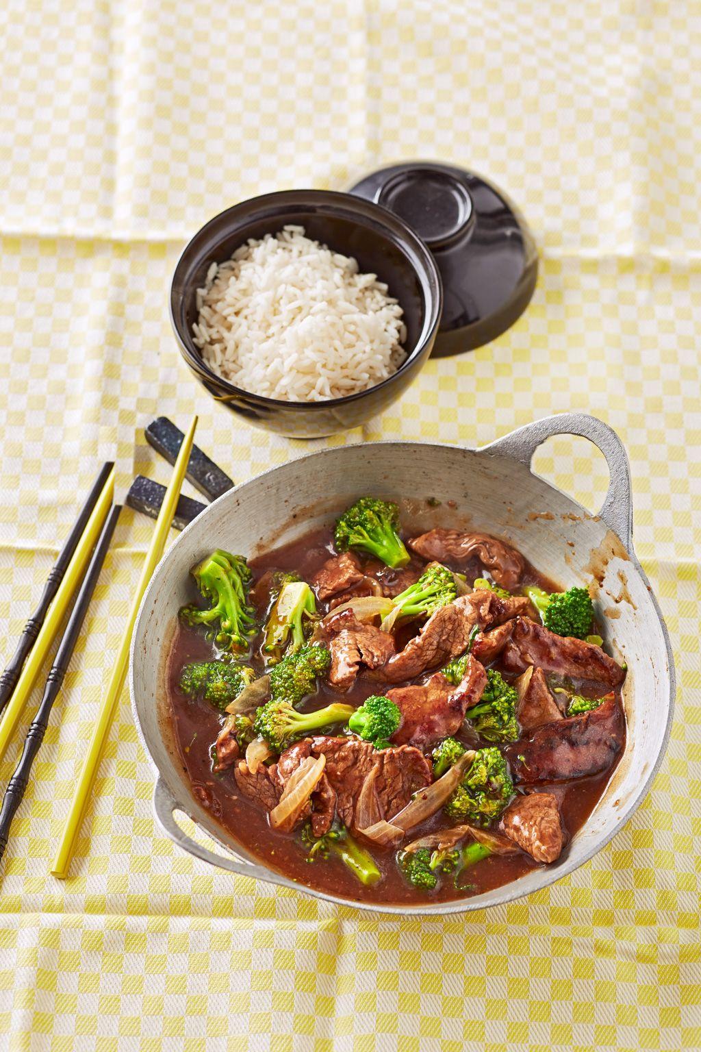 Asiatische Rindfleisch - Brokkoli - Pfanne in 2019 | Asiatische ...