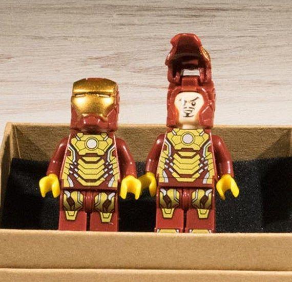 Ironman Cufflinks, Superhero gift, superhero Cufflinks, comic book, superhero, cufflinks, geek gift, gifts for him, fun mems gift #superherogifts