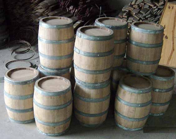Oak Barrels With Images Barrel Decor Oak Barrel Barrel