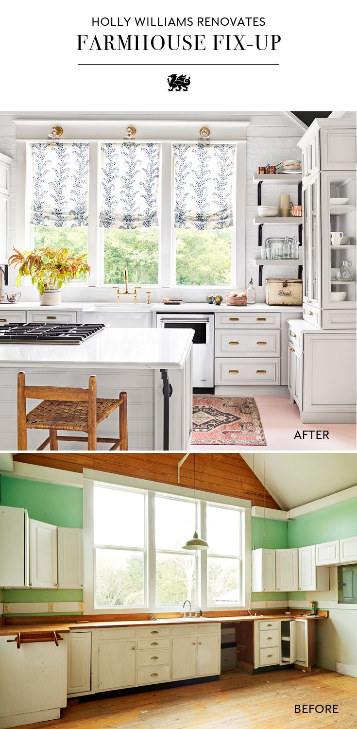 See This Tennessee Fixer Upper Go From Tattered To Picture Perfect Kitchen Cabinets Decor Cabinet Decor White Kitchen Cabinets