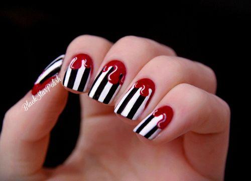 stripes + drips