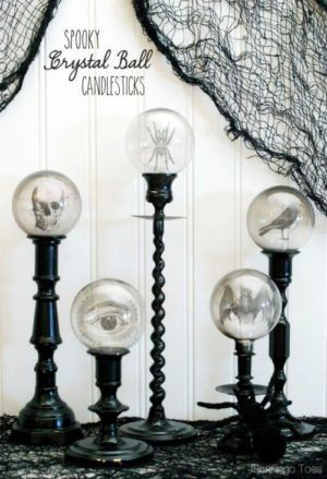 How to Make 31 Halloween Decoration Ideas Easy diy crafts - create halloween decorations
