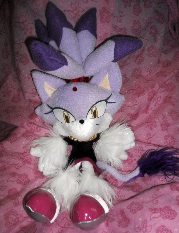 Sega Sonic The Hedgehog Blaze The Cat Plush Sonic Plush Toys Sonic Sonic The Hedgehog