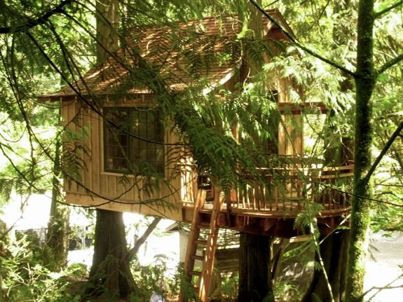 Unusual Bed And Breakfast Treehouse Point Hotel Just 30 Min Away From Seattle