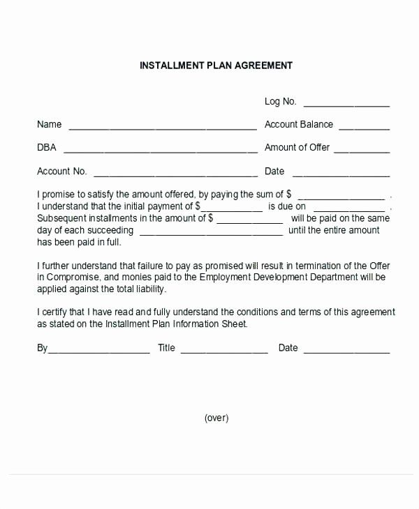 30 Payment Plan Letter Template In 2020 (With Images
